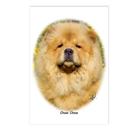 Chow Chow 9T096D-026 Postcards (Package of 8)