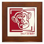 Year of the Monkey Framed Tile