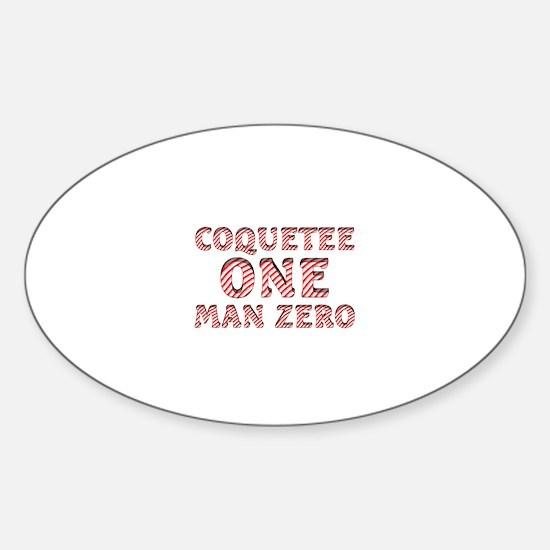 Coquette Sticker (Oval)