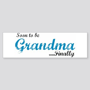Soon to be Grandma Bumper Sticker