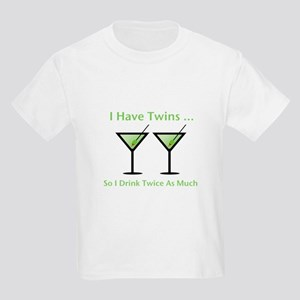 I have twins, so I drink twic Kids Light T-Shirt