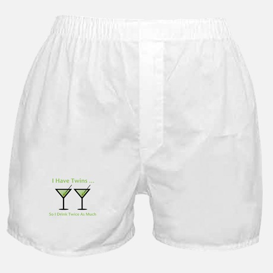 I have twins, so I drink twic Boxer Shorts