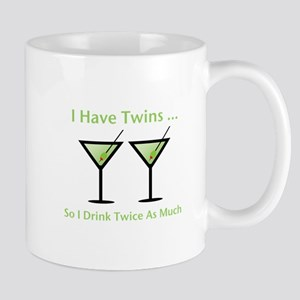 I have twins, so I drink twic Mug