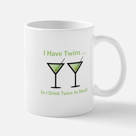 I have twins, so I drink twic Mug