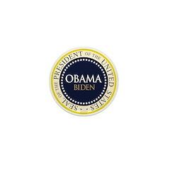 Obama-Biden Seal Ring Mini Button (10 pack)