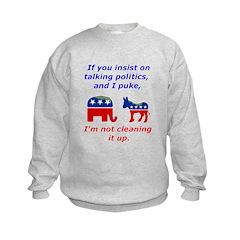 Politico Puke Sweatshirt