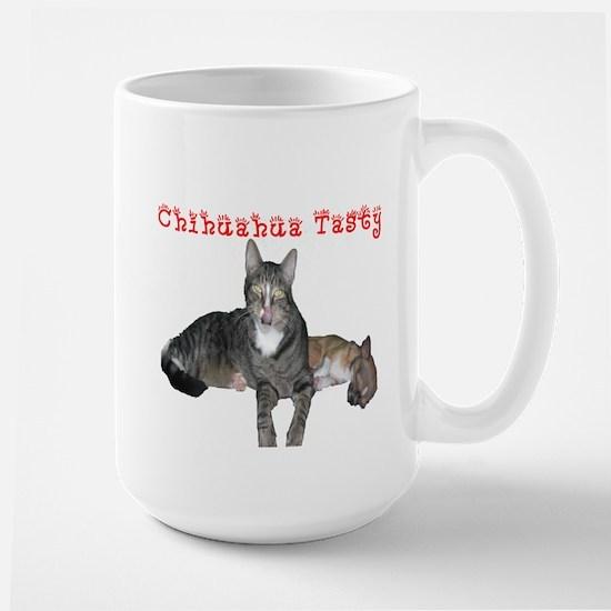 Chihuahua Tasty! Large Mug