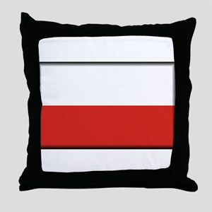 Poland Throw Pillow