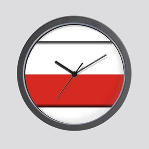 Poland Wall Clock