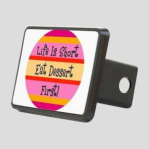 Eat Dessert First Rectangular Hitch Cover