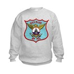 USS BLUE Kids Sweatshirt