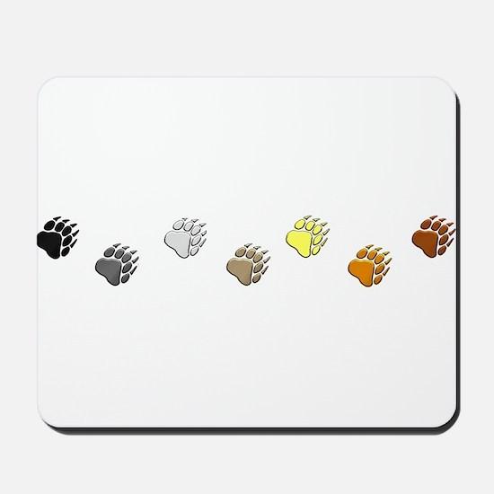 BEAR PRIDE PAWS/REVERSE Mousepad