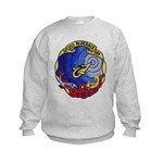 USS BLUEBACK Kids Sweatshirt