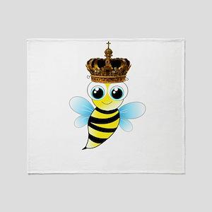 Queen B Throw Blanket