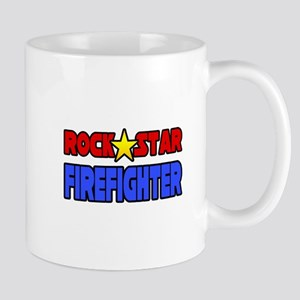 """Rock Star Firefighter"" Mug"