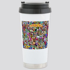 Find the normal guy Stainless Steel Travel Mug