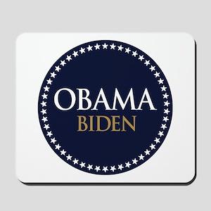 Obama-Biden Star Ring Mousepad