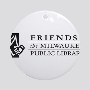 Friends of MPL Ornament (Round)