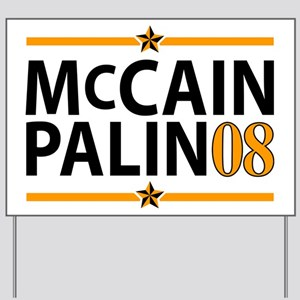 McCain/Palin 08 Yard Sign