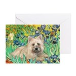 Irises/Cairn #4 Greeting Cards (Pk of 10)
