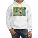 Irises/Cairn #4 Hooded Sweatshirt