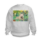 Irises/Cairn #4 Kids Sweatshirt