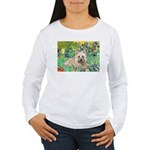 Irises/Cairn #4 Women's Long Sleeve T-Shirt