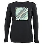 Turquoise Tile Pattern T-Shirt