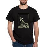 marine cross - iwo jima Dark T-Shirt