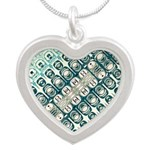 Turquoise Tile Pattern Necklaces