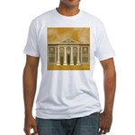 King Solomon's Temple Fitted T-Shirt