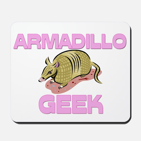 Armadillo Geek Mousepad