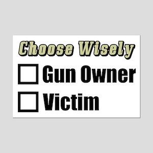 """""""Gun Owner Or Victim?"""" Poster"""