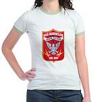 USS BORDELON Jr. Ringer T-Shirt