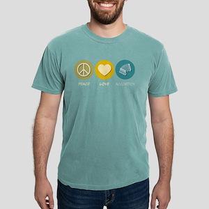 Peace Love Accordion Women's Dark T-Shirt