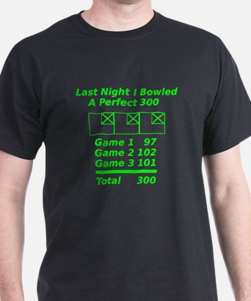 Perfect Bowling Score T-Shirt