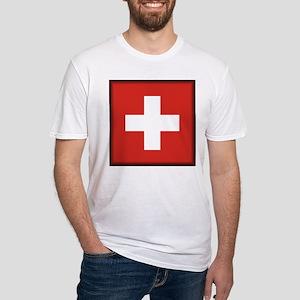 Switzerland Fitted T-Shirt