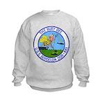 USS BORDELON Kids Sweatshirt