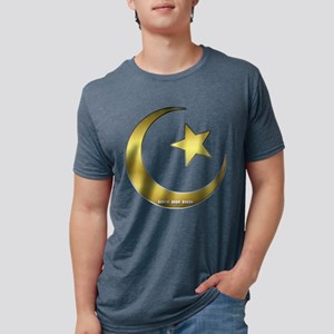 Gold Star and Crescen T-Shirt