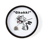Ghakk... It's a Hairball Wall Clock