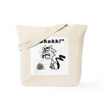 Ghakk... It's a Hairball Tote Bag