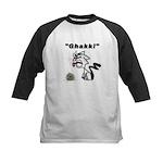 Ghakk... It's a Hairball Kids Baseball Jersey