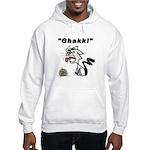 Ghakk... It's a Hairball Hooded Sweatshirt