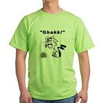 Ghakk... It's a Hairball Green T-Shirt