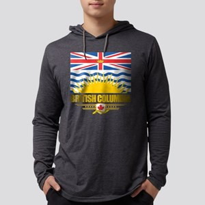 British Columbia Flag Long Sleeve T-Shirt