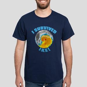I Survived Hurricane Ike Dark T-Shirt