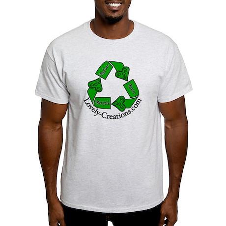 Reduce Reuse Recycle Promo Item Light T-Shirt