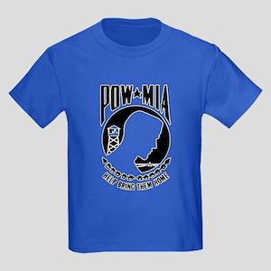 Vietnam Era POW MIA Kids Dark T-Shirt