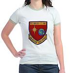 USS BOULDER Jr. Ringer T-Shirt