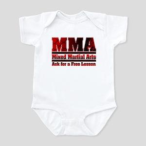 MMA Mixed Martial Arts - 2 Infant Bodysuit
